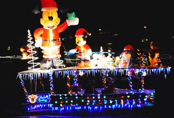 what better way to view the incredible lights and experience everything the newport beach boat parade has to offer than by being onboard a ship fully